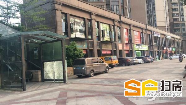 中海誉城北苑出租离麦当劳150米左右离小区入口各50米
