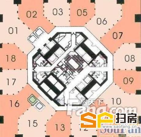 中信广场写字楼 广州地标建筑 正对体育聚宝盘