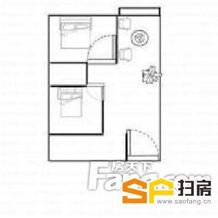君林天下 户型:2室1厅1厨1卫1阳台 3000元 求电-整租