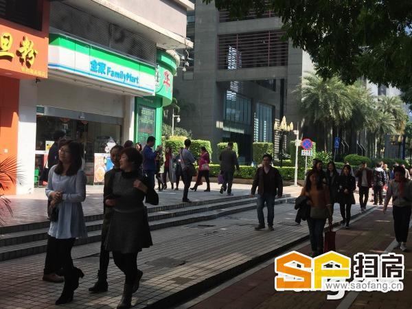 珠江新城繁华中区裙楼大面积,适宜美容会所健身
