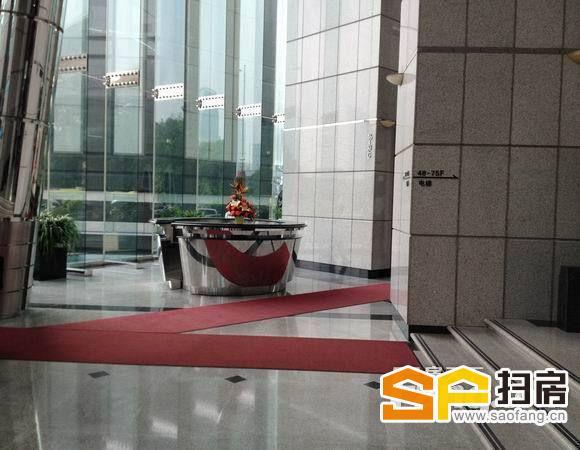 广州写字楼出租 中信广场 高层南向 600方 精装放租