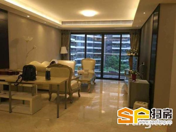 电梯高层 全新装修 业主放租 家私家电齐全 大三房两厅-整租