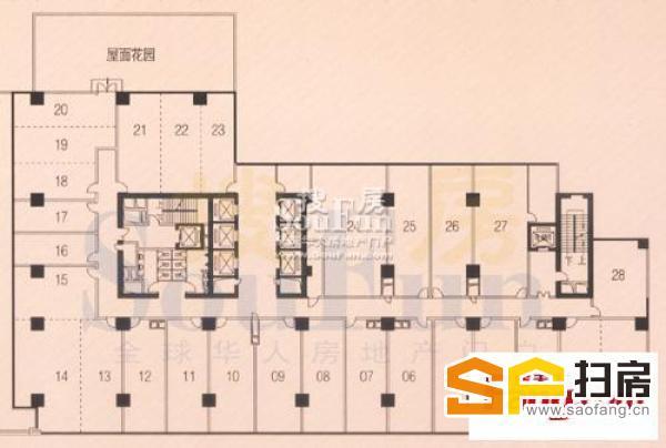东风东路写字楼东山紫园商务大厦 可交吉出售25000可谈 扫房网