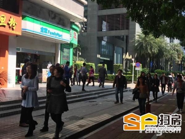 珠江新城首层转角位,七字招牌位,有餐饮功能