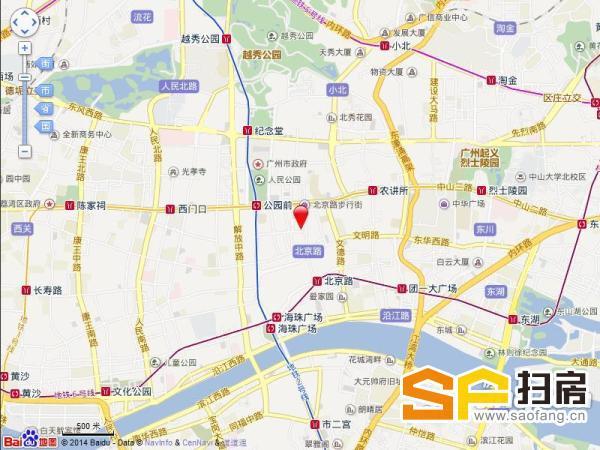 广百新翼大厦:成熟越秀商圈 物业视野开阔 340方售595万