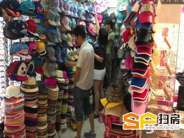 华南玩具精品批发城 实收18万一年 人流必经之路 业主急售 扫房网