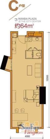 番禺万达广场奥园国际纯写字楼 整层1200方放卖单价2万 扫房网