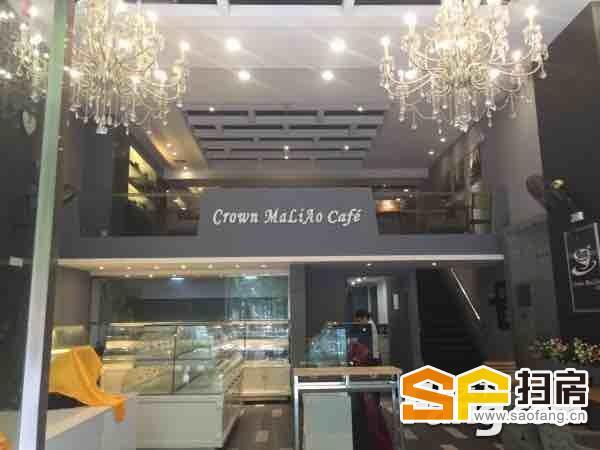 珠江新城住宅首层实用大,临街靓铺,豪装,带100㎡阁楼。