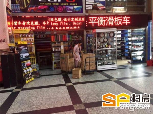 车博城 独立产权 总价25万 口临街 带租约1.2万