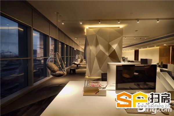 180米双塔精粹国际超写字楼总部写字楼,室内购物公园