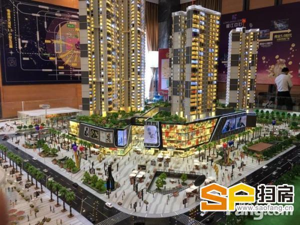 佛山顺德龙江,大的大商场街铺,人流量大