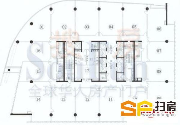 珠江新城甲.级写字楼 2400方 仅售28000元/方 即买即用