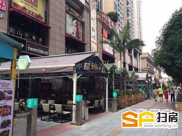富力盈盛广场 一楼临街餐饮旺铺 带六年稳定租约 每月收租40000 扫房网