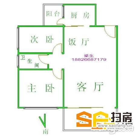 锦绣华景精装两房赠送40平方露台 底层架空 少一层建筑多一层温情