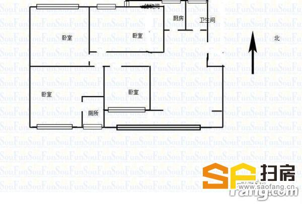 精装四室两厅 南北通透 带超大平台 阿尔卡迪亚对面