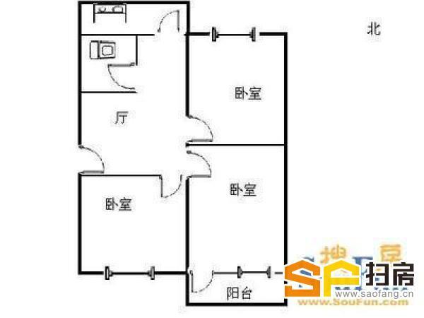 柳南小区 三室精装修 真实照片 只要68万买三室婚房