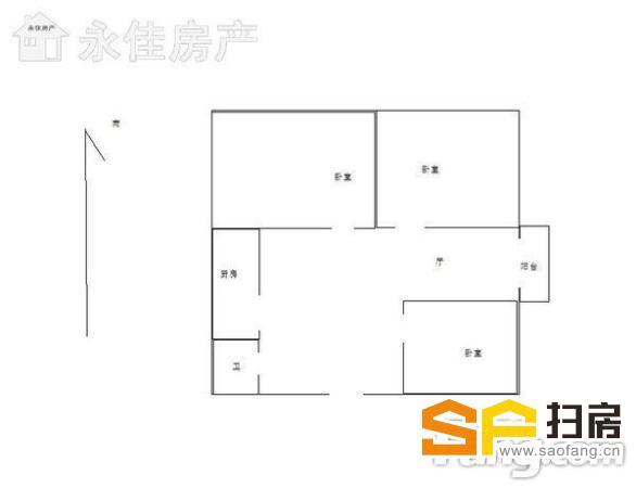 限时房源 联盟小区三室 非顶 可为孩子上学落户 理想住房