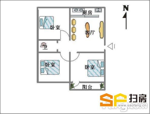 40中片区,精装3居室,南北通透,生活 陪读,配套成熟,