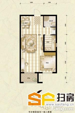 急售汇君城一室一厅商品房,黄金楼层,精装修,可贷款,首付低