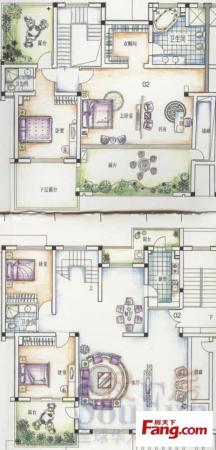 豪华装修 带全套家具家电 拎包入住 稀缺多层 高档社区