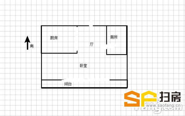 中华大街地铁口 家具家电齐全一室适合出租租金高1500左右