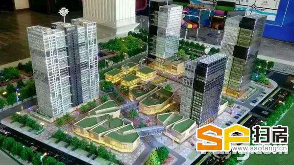 新市政府对面超5A写字楼 70--1500平 紧邻地铁