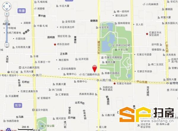 建设大街 中山路 北国商城对过 燕华大厦 底商 纯一层 带租约出售
