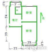 28中机场路小学重点双 两室精装 居住教育两不误
