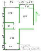 金亿城附近 美麟花园 70平两室精装修 无税 新百商圈 太和