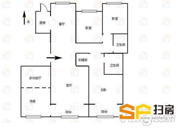 瀚唐买4室2厅3卫