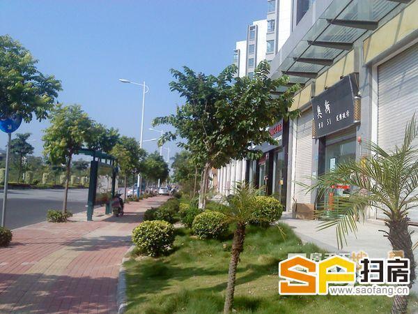 上城湾畔商业街一线临街旺铺 47方共两层 一铺难求