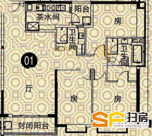 今日 东汇华庭 点击了已超过10000 南向3房低价售