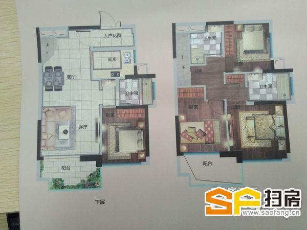 佳兆业城市广场6米层高复式四房三卫适合改善型的朋友