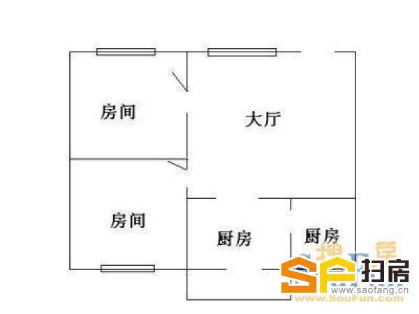 教工新村 实用两房 南北对流 框架结构 环境安静 黄金楼层