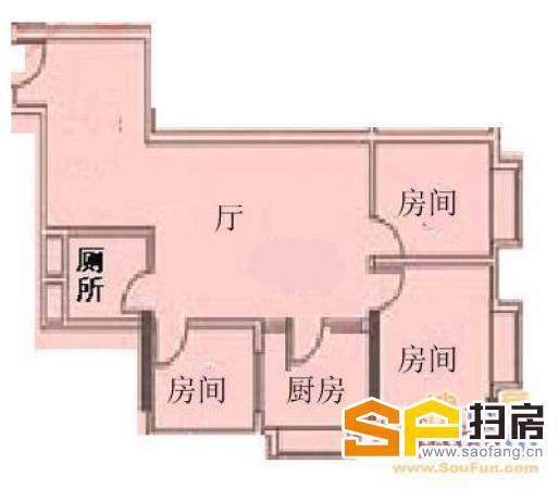 地铁上盖 双 电梯中楼层 哪里找 超安静户型 看房方便 扫房网