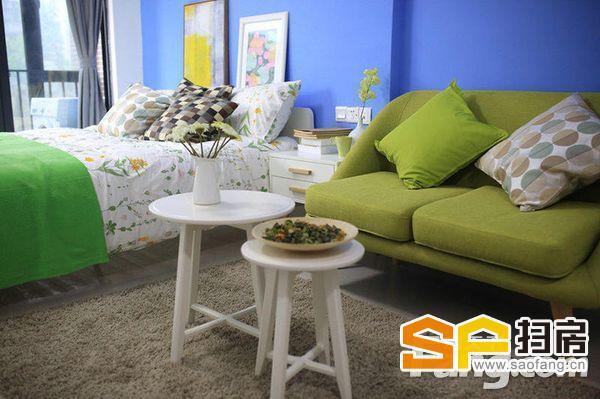 朱美拉国际公寓 南向望花园 地铁口物业 业主出国抛售 带租约5500 扫房网