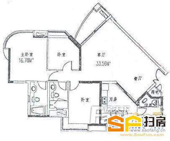 中海锦苑 豪装三房仅售650万 一线江景 南北对流