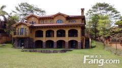 中国美林湖加州岛 四合院 超大独栋别墅 私家游泳池 花园90