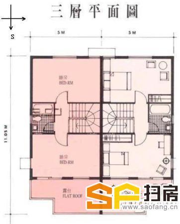 祈福新村A区别墅192方4房 南向 精装修 业主急卖
