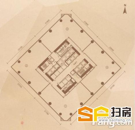 珠江新城江景超写字楼一手内部货高层 都市都在你脚下