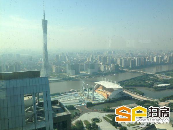广州可售高楼层 东塔旁环球都会高层一线望江俯瞰珠江