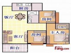 东圃盈彩美居 豪华三房 厅出阳台正南靓房 业主自住装修保养好