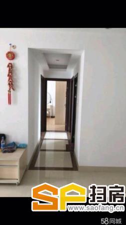 街口中心区上城湾畔 3室2厅95平米 精装修 押二付一(本房子位于上城湾畔,配置齐全,完美配置,提包即可) 扫房网