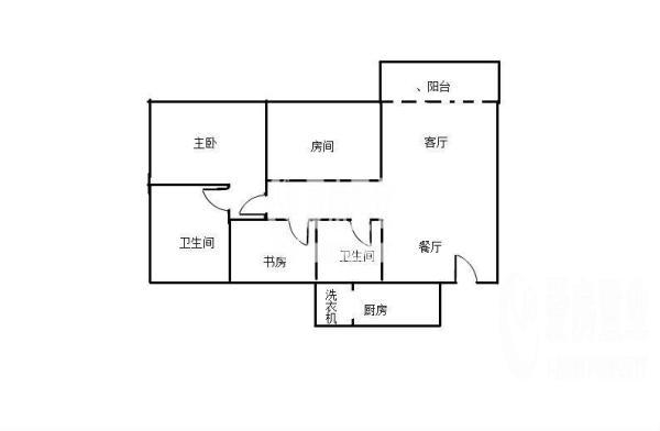 京溪地铁口云景名都大三房出售、培英学位房