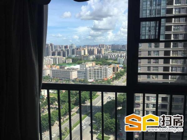 江北佳兆业地标中心豪宅公寓出租,三房仅租3800