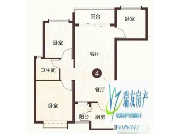 恒大绿洲 3室精装 家具家电齐全 高档住宅