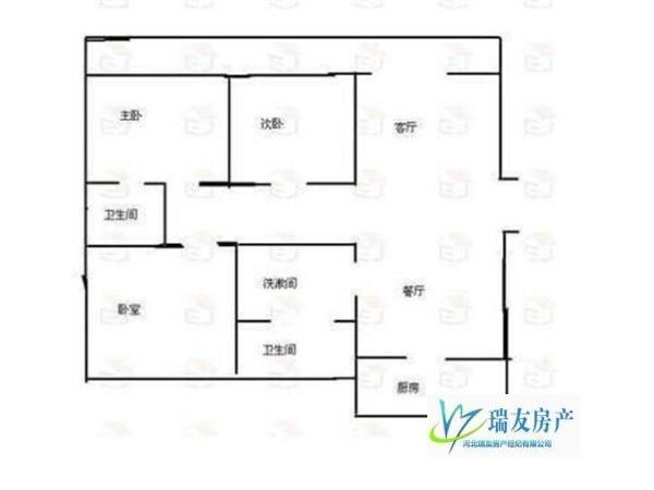 康星家园 95万元 146m² 3房 石家庄 精装 南北 好房不要错过
