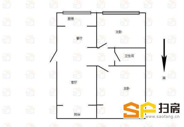 (出售) 急售康星家园2室58万3楼多层大型小区随时看房
