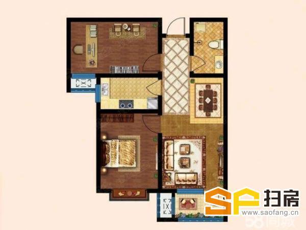 (出售) 靓房低价抢售2房 84平米毛坯南第一街区62万元