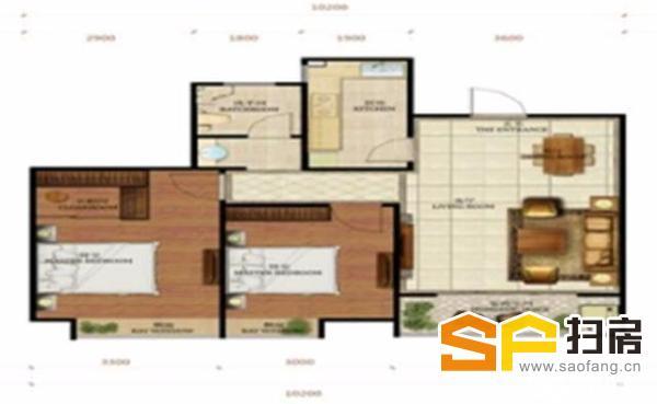 (出售) 大社区生活交通方便毛坯南2室 长九中心99万元 98平米